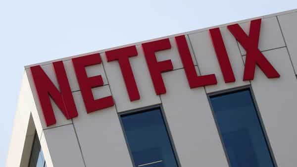 The Netflix logo is seen on their office in Hollywood, Los Angeles (REUTERS)
