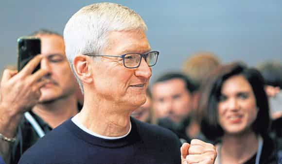 Tim Cook has speeded up plans for the launch of an Apple car (Photo: Reuters)