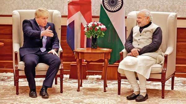 India, UK are looking to recast ties amid latter's exit from the EU. (MINT_PRINT)