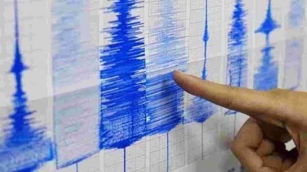 Earthquake of magnitude 2.3 on the Richter scale hit Nangloi in Delhi.