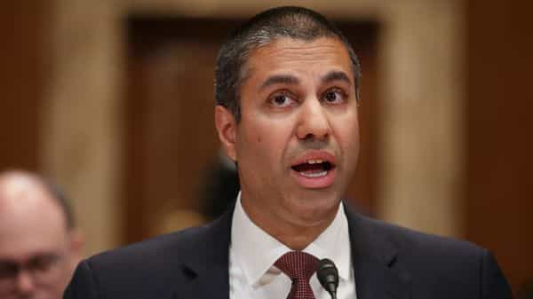 Federal Communications Commission Chairman Ajit Pai (AFP)