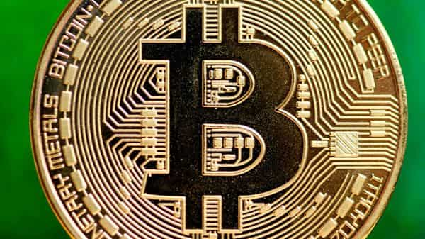 Bitcoin climbed as much as 3.6% on Monday and was trading at about $27,150 as of 1 p.m. in Tokyo. (AFP)