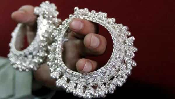 Silver prices on MCX were trading at  ₹68,500 per kg.