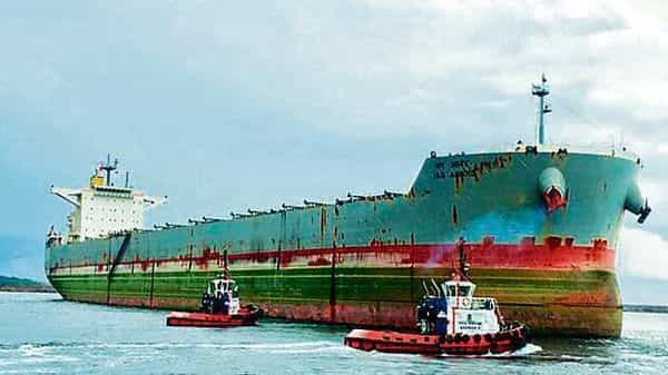 Bulk cargo vessel MV Jag Anand has been stranded in waters off the Chinese ports of Jingtan since June 13.ANI file (HT_PRINT)