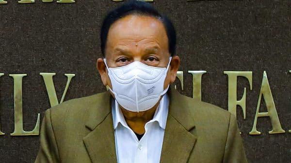 Union Health Minister Harsh Vardhan  (PTI)