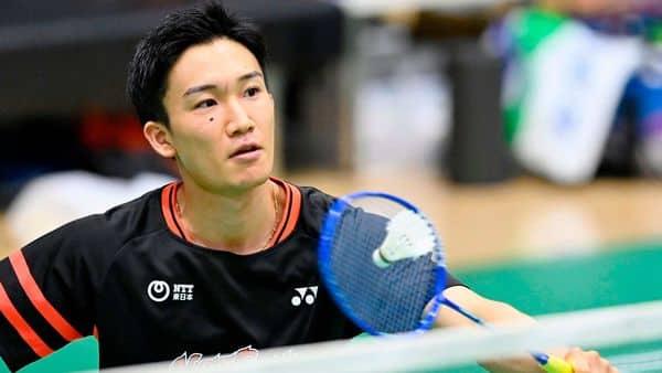 Japan's badminton player Kento Momota (AFP)