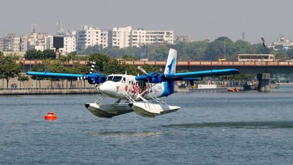 Ahmedabad witnessed India's first seaplane operations (PTI)