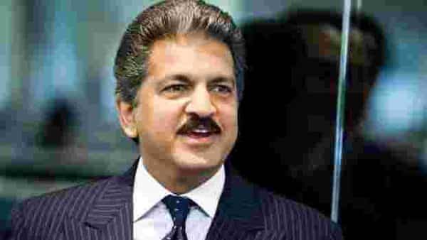 A file photo of business tycoon Anand Mahindra. (Bloomberg)