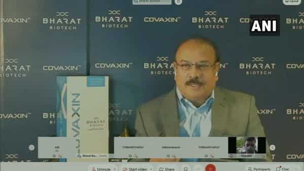 Dr Krishna Ella, the founder and chairman of Bharat Biotech.