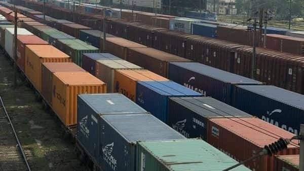Freight trains at Tughlakabad Railway station in New Delhi (Mint)