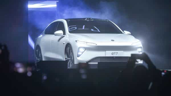 The launch of the ET7, came as rival Tesla started selling its China-made Model Y SUV (AFP)