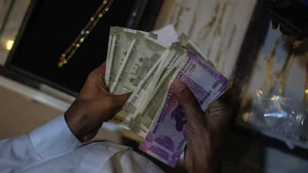 The rupee fell to 73.47 against US dollar (Bloomberg)