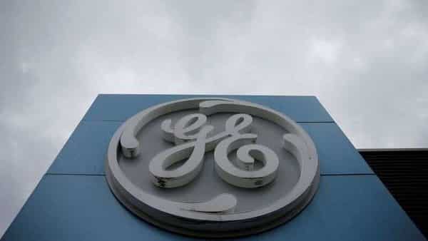 FILE PHOTO: The logo of U.S. conglomerate General Electric is seen on the company building in Belfort, France, October 19, 2019. REUTERS/Vincent Kessler/File Photo (REUTERS)