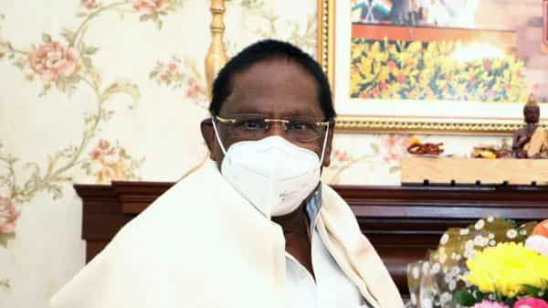 Narayanasamy said he had requested prime minister Narendra Modi at the video conference with Chief Ministers on Monday that political leaders, ministers and those in public life also be brought under the first phase for inoculation (ANI)