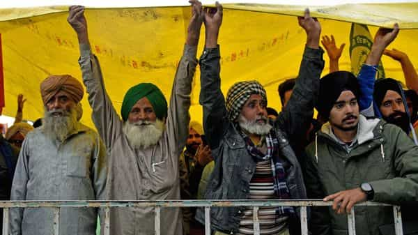 For over a month, farmers seeking repeal of three farm laws are camped around Delhi under the open sky (ANI Photo )