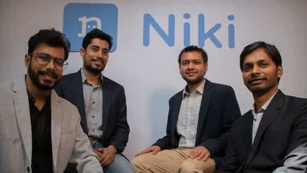 Niki Founders (left to right)- Nitin (Co-Founder & CMO), Keshav (Co-Founder & CTO), Shishir (Co-Founder & CBO), Sachin Jaiswal (Co-Founder & CEO) (Niki)