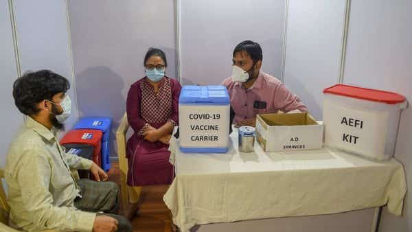 India aims to vaccinate 300 million citizens over the next few months. (PTI)