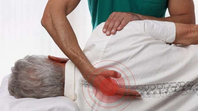 Spinal alignment can help with regulating cortisol levels in the body (Photo: iStockphoto)