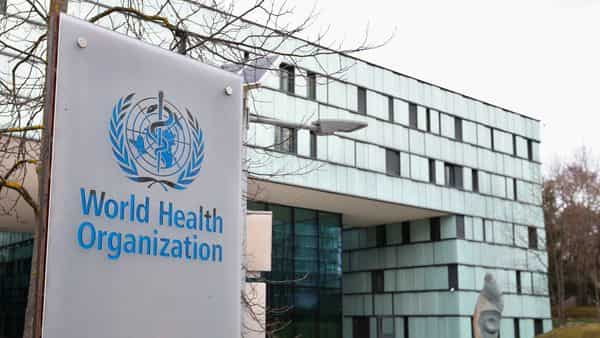 FILE PHOTO: A logo is pictured outside a building of the World Health Organization (WHO) during an executive board meeting on update on the coronavirus outbreak, in Geneva, Switzerland. (REUTERS)