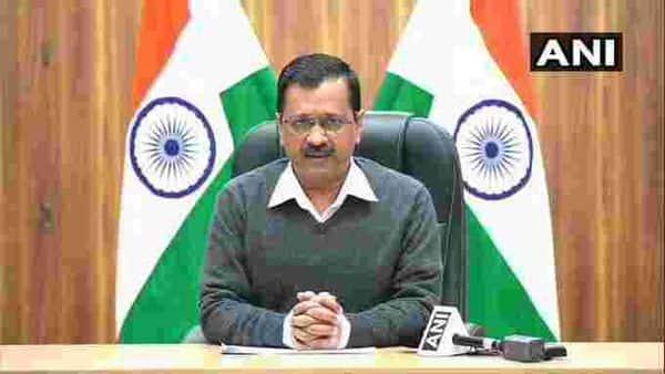 Delhi Chief Minister Arvind Kejriwal. (ANI)