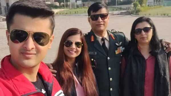 Col Naresh Khatter and his family