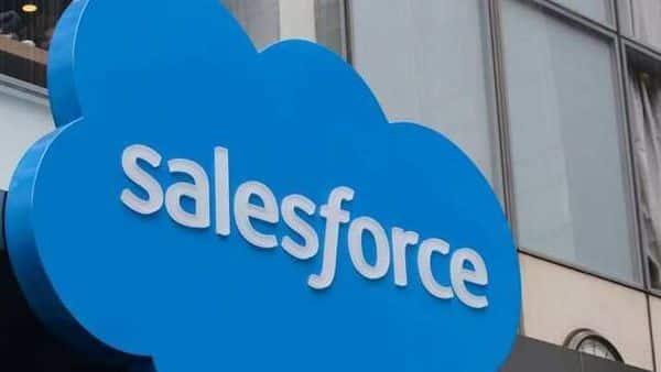 The company logo for Salesforce.com.