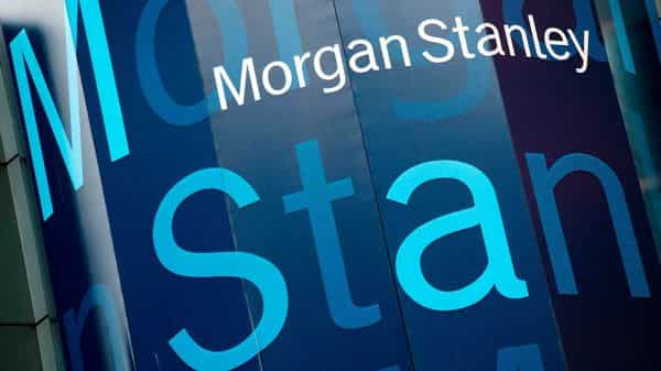 FILE - In this Oct. 18, 2011, file photo, the Morgan Stanley logo is displayed on its Times Square building, in New York.  (AP)
