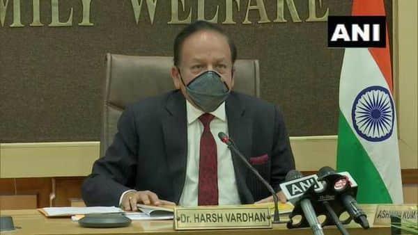 Union Health Minister Harsh Vardhan. (ANI)