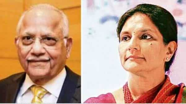 Apollo Hospitals founder Prathap C. Reddy and his daughter and vice-chairperson Preetha Reddy.
