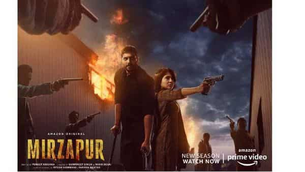 Mirzapur, that released a second season this October, tells the tale of two warring families in small-town India marked by lawlessness, gang rivalries, and crime. (Source: Twitter @YehHaiMirzapur)