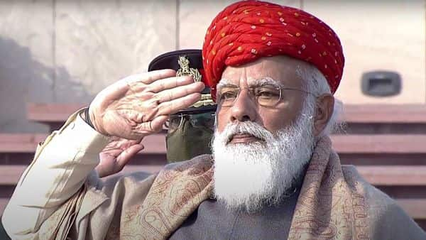 Different shades of PM Modi: The colourful tradition of special turban on R-Day