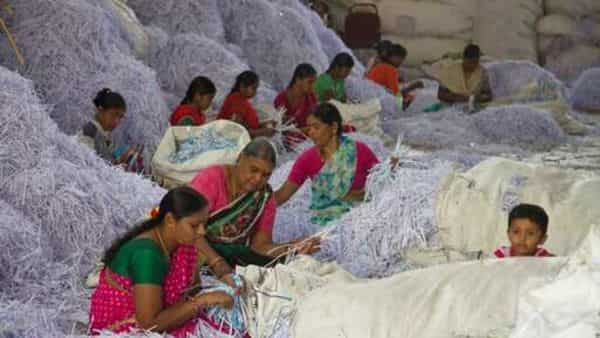 The survey said employment recovery has been uneven and urban India lags behind in the recovery (AP)