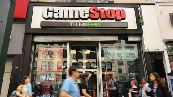 GameStop continued its wild Wall Street ride on January 25, 2021 with a dizzying climb seemingly powered by online chatter about the struggling video game retailer with a devoted fan base. (AFP)