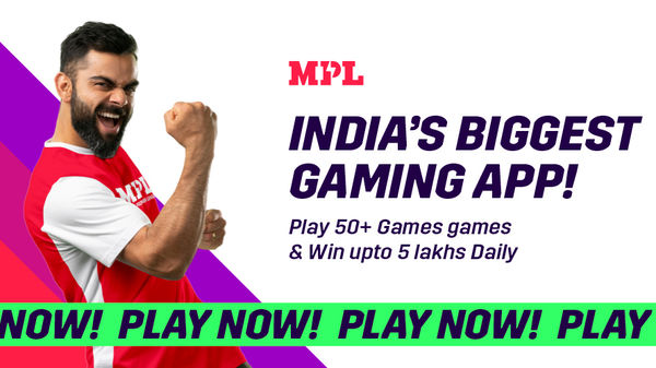 MPL is regarded as one of the leading eSports and mobile gaming platforms with over 70 games and more than 6 crore users in India.
