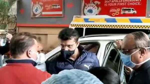 Sourav Ganguly undergoes angioplasty, two more stents implanted