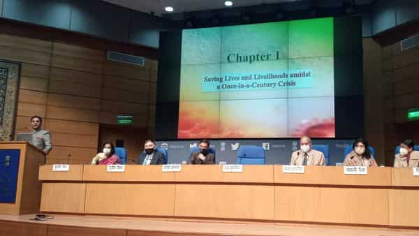The Economic Survey 2020-21 was tabled in Parliament on Friday.