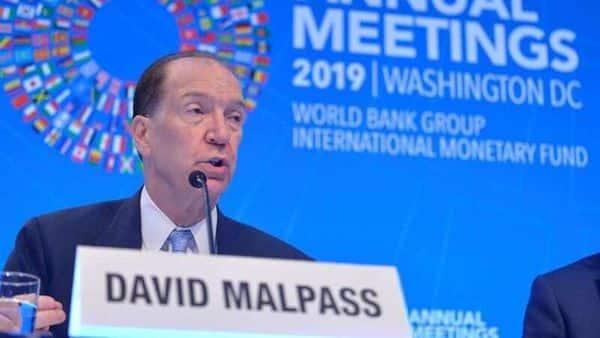 FILE PHOTO: World Bank President David Malpass. (REUTERS)