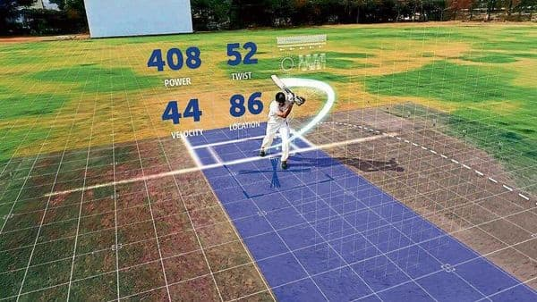 Anil Kumble's stroke gets analysed with an IoT device made by Spektacom, a startup founded by the ace leg-spinner in Bengaluru.