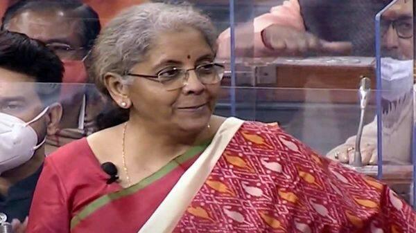 Union Finance Minister Nirmala Sitharaman presents the Union Budget 2021-22 in Lok Sabha (ANI Photo)