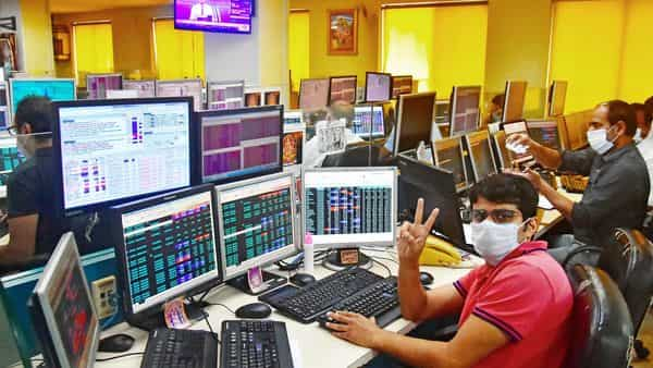 The Sensex surged over 2,300 points to end at 48,600, while Nifty 50 soared 4.7% to close at 14,281.