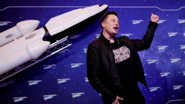 A file photo of SpaceX owner and Tesla CEO Elon Musk. (REUTERS)