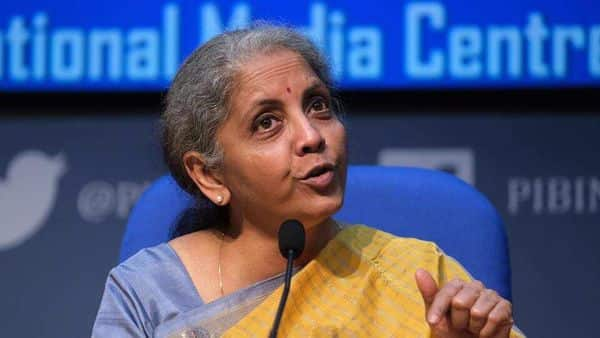 Finance minister Nirmala Sitharaman. (Bloomberg)