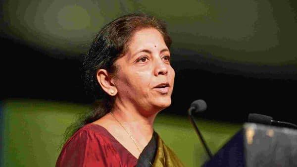 Union finance minister Nirmala Sitharamanmint