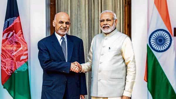 The virtual meeting between Ashraf Ghani and Narendra Modi is scheduled to be held this week (Mint)
