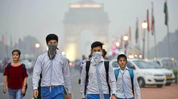 Delhi air pollution and smog (HT)