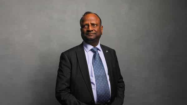 Rajnish Kumar, chairman of State Bank of India Ltd. (Bloomberg)