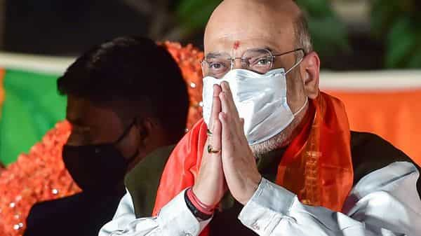Union Home Minister Amit Shah (PTI)