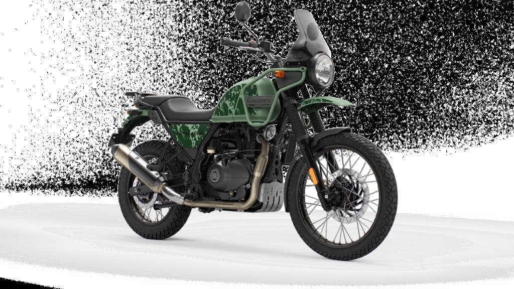 The 2021 Himalayan comes with three new colours including a new Pine Green, Granite Black and Mirage Silver. The previous generation colour options will continued to be offered alongside. (In picture: Pine Green colour variant)