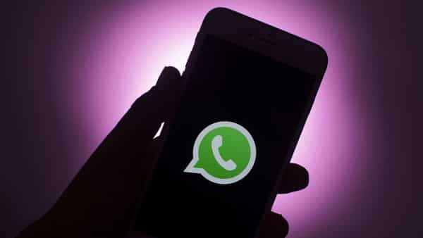 The logo for Facebook Inc. WhatsApp messaging app (Bloomberg)