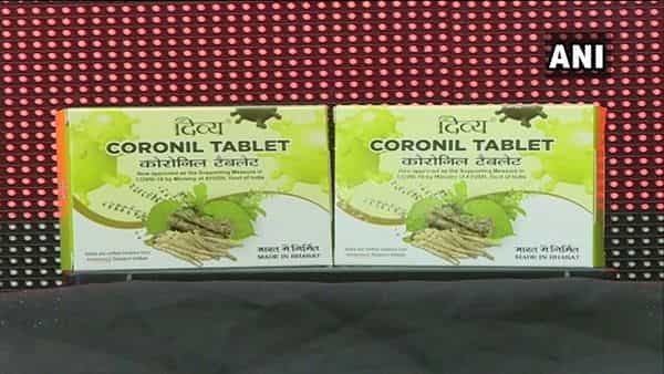 In June last year, Patanjali had launched 'Coronil'. (ANI)
